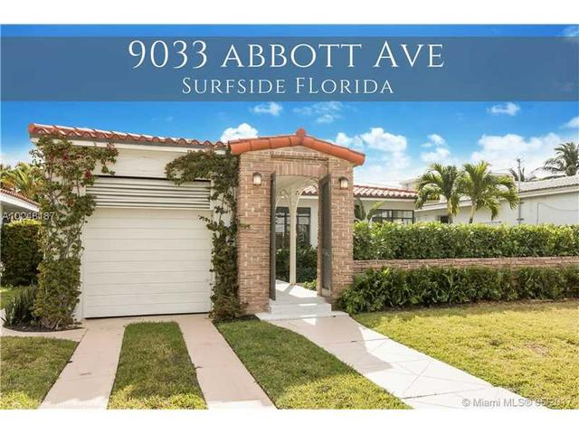 9033 Abbott Ave, Surfside, FL 33154