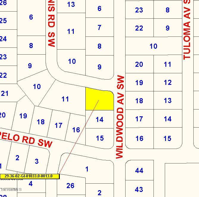 0 Tunis Road Wildwood Road Corner Road, Palm Bay, FL 32908