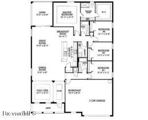 5601 Sanctuary Avenue, Grant, FL 32949