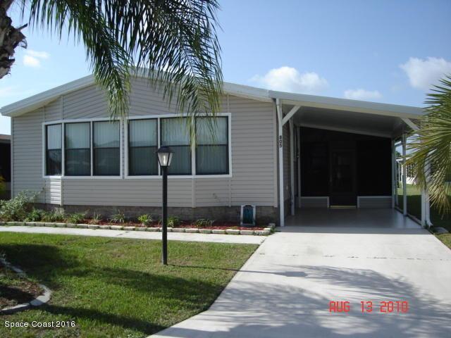805 Oleander Cir, Barefoot Bay, FL 32976
