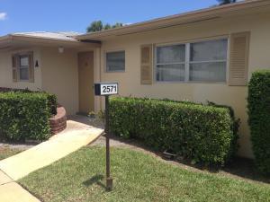 2571 Barkley Dr #APT A, West Palm Beach FL 33415