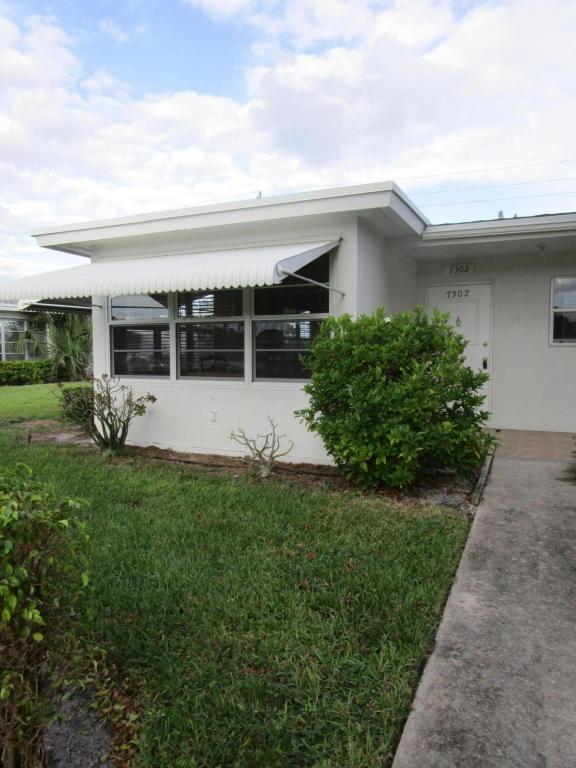 7302 E Oakridge Circle #A, Lake Worth, FL 33462