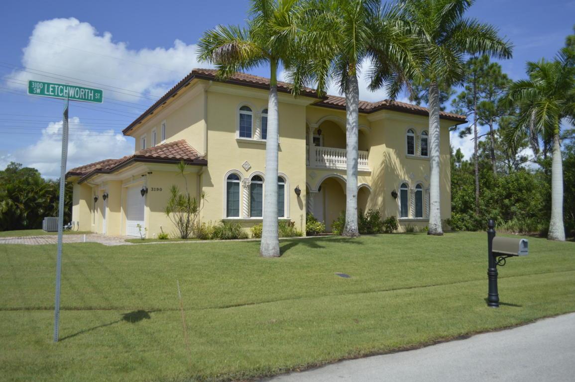 3190 SW Letchworth Street, Port Saint Lucie, FL 34953