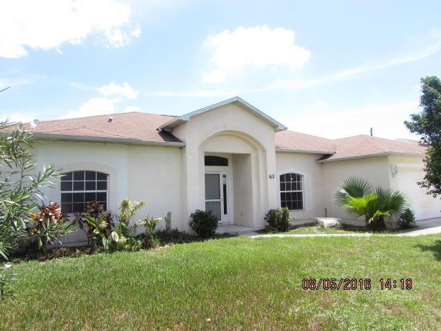 612 SW Mccracken Ave, Port Saint Lucie, FL 34953