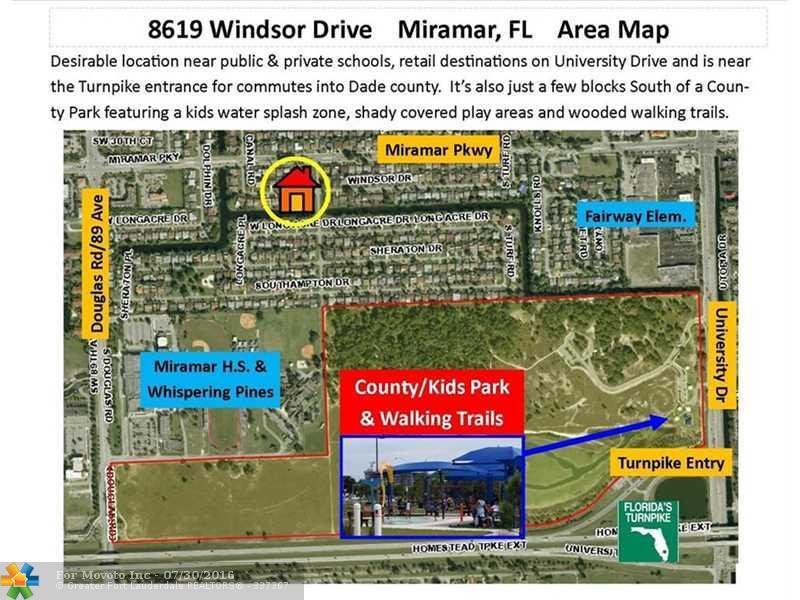 8619 Windsor Drive, Miramar, FL 33025