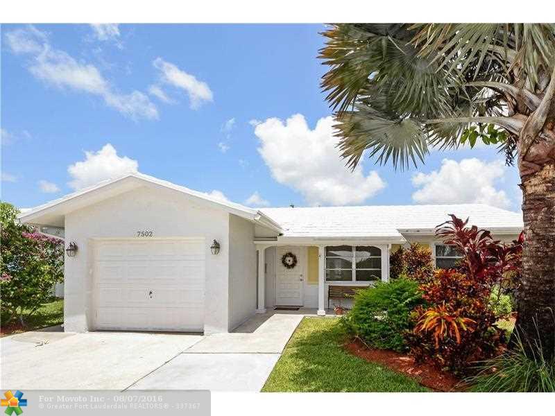 7502 NW 66th Terrace, Tamarac, FL 33321