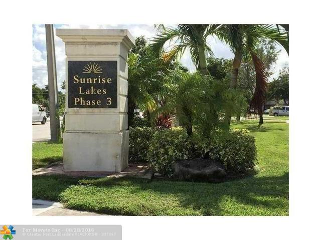 9501 Sunrise Lakes Blvd #104, Sunrise, FL 33322