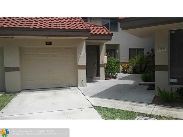 994 NW 93rd Ave #994, Plantation, FL 33324