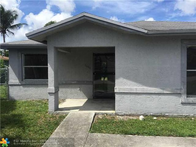 1609 NW 6th, Fort Lauderdale, FL 33311