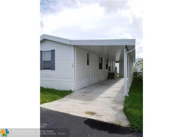 163 Marine Cir, Hallandale, FL 33009
