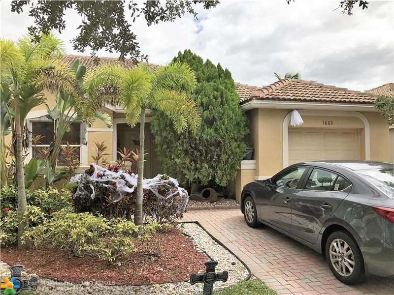 1602 Orion Lane, Weston, FL 33327