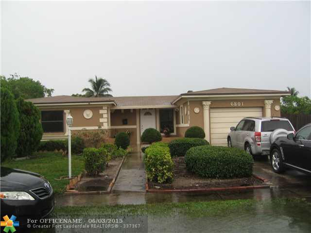 6801 SW 8th Ct, North Lauderdale, FL 33068