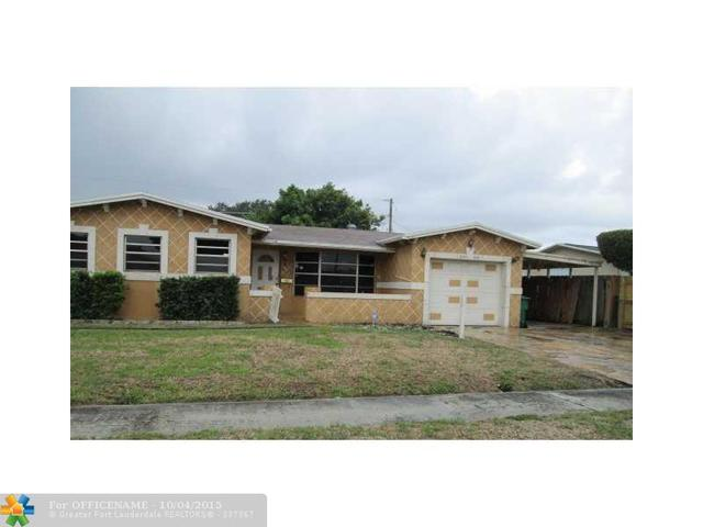 5020 NW 18th St, Lauderhill, FL 33313