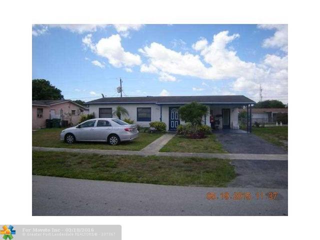 4960 NW 13th St, Lauderhill, FL 33313