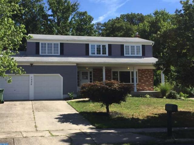 1530 Chalet Dr, Cherry Hill, NJ 08003