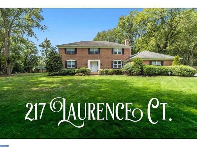 217 Laurence Ct, Moorestown, NJ 08057
