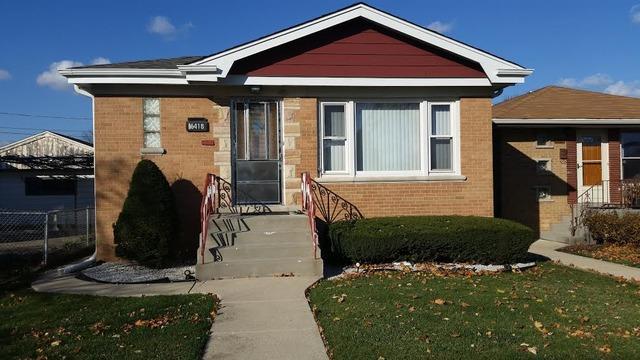 6418 W Sunnyside Ave, Harwood Heights, IL