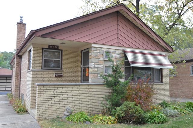 14734 Keystone Ave, Midlothian, IL