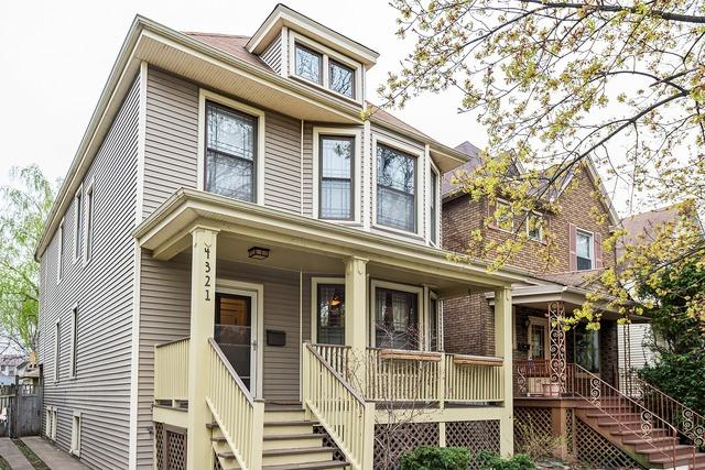 4321 N Avers AveChicago, IL 60618