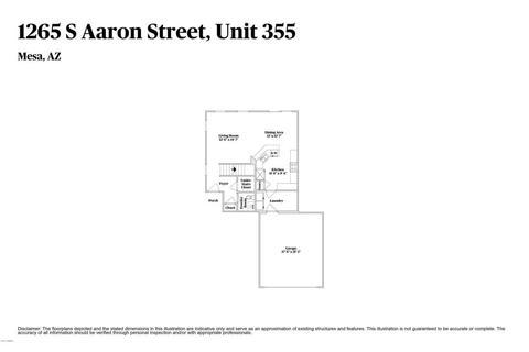 1265 S Aaron -- #355, Mesa, AZ 85209