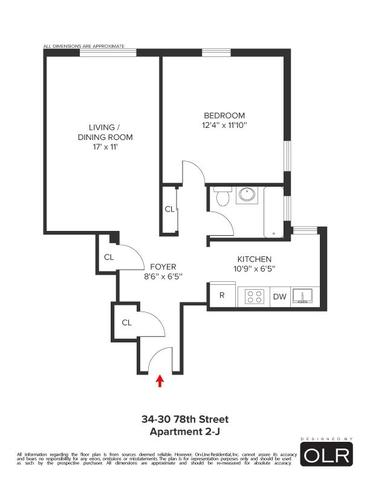 34-30 78th St #APT 2-J, Jackson Heights, NY