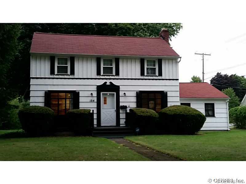 104 Northfield Road, Rochester, NY 14617