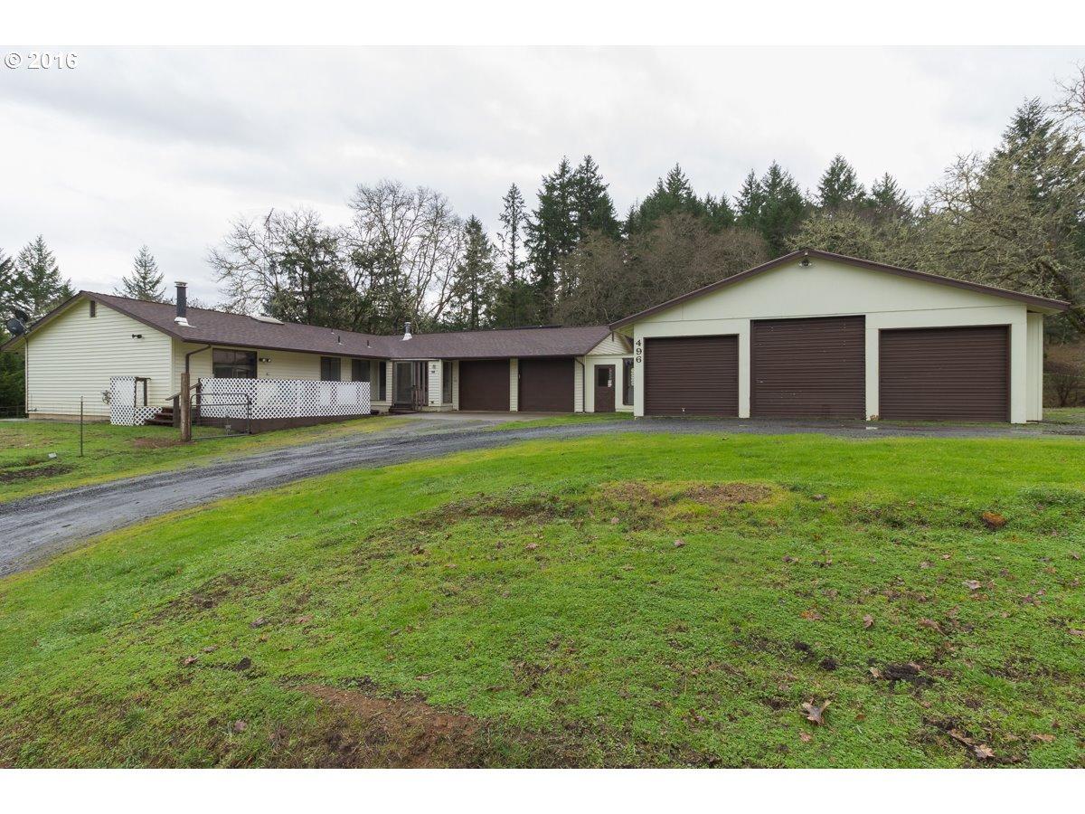 496 Becker Rd, Roseburg, OR