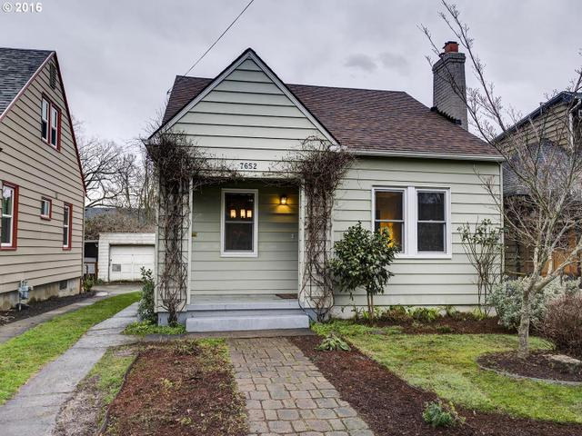 7652 SE 20th Ave, Portland OR 97202