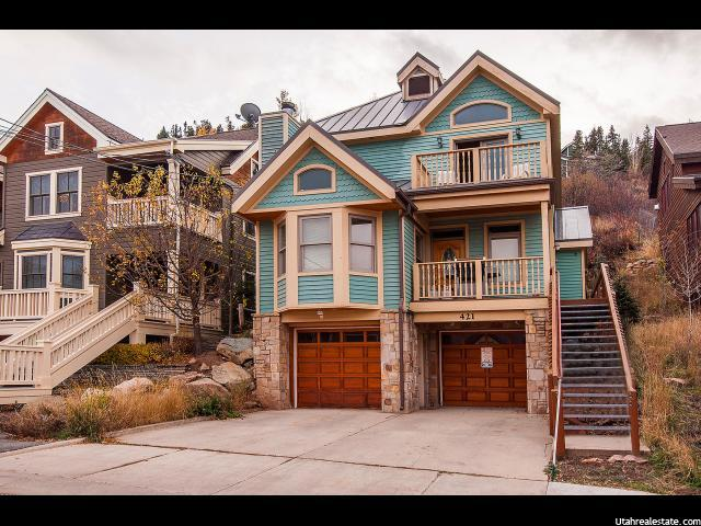 421 Woodside Ave, Park City UT 84060
