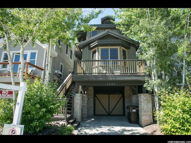 1233 Empire Ave, Park City UT 84060