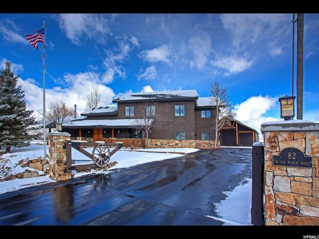 82 W Old Ranch Rd, Park City UT 84098