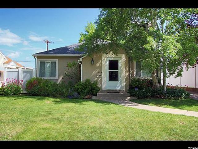 1819 E Kensington Ave, Salt Lake City UT 84108