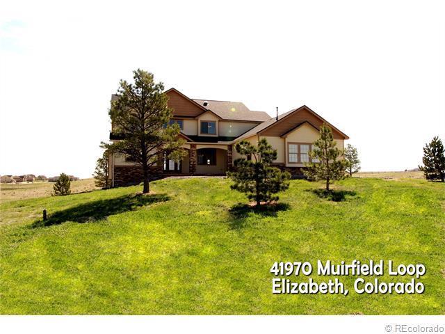 41970 Muirfield Loop, Elizabeth, CO