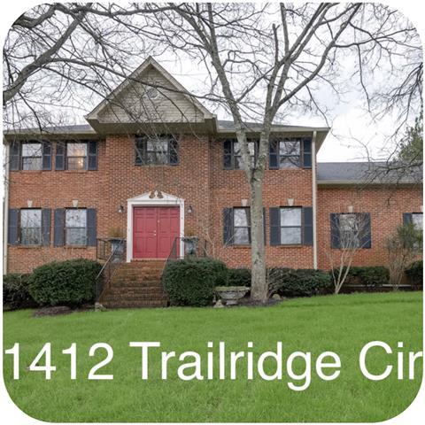 1412 Trailridge Cir, Mount Juliet, TN