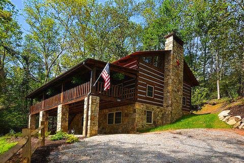 pigeon tn sc cabins wahoo city ext sale in and cabin of forge log gatlinburg ldg for homes