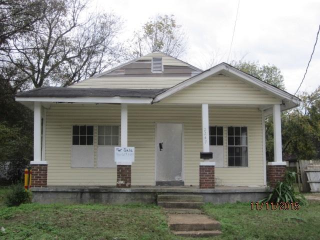 2247 Clayton Ave, Memphis TN 38108