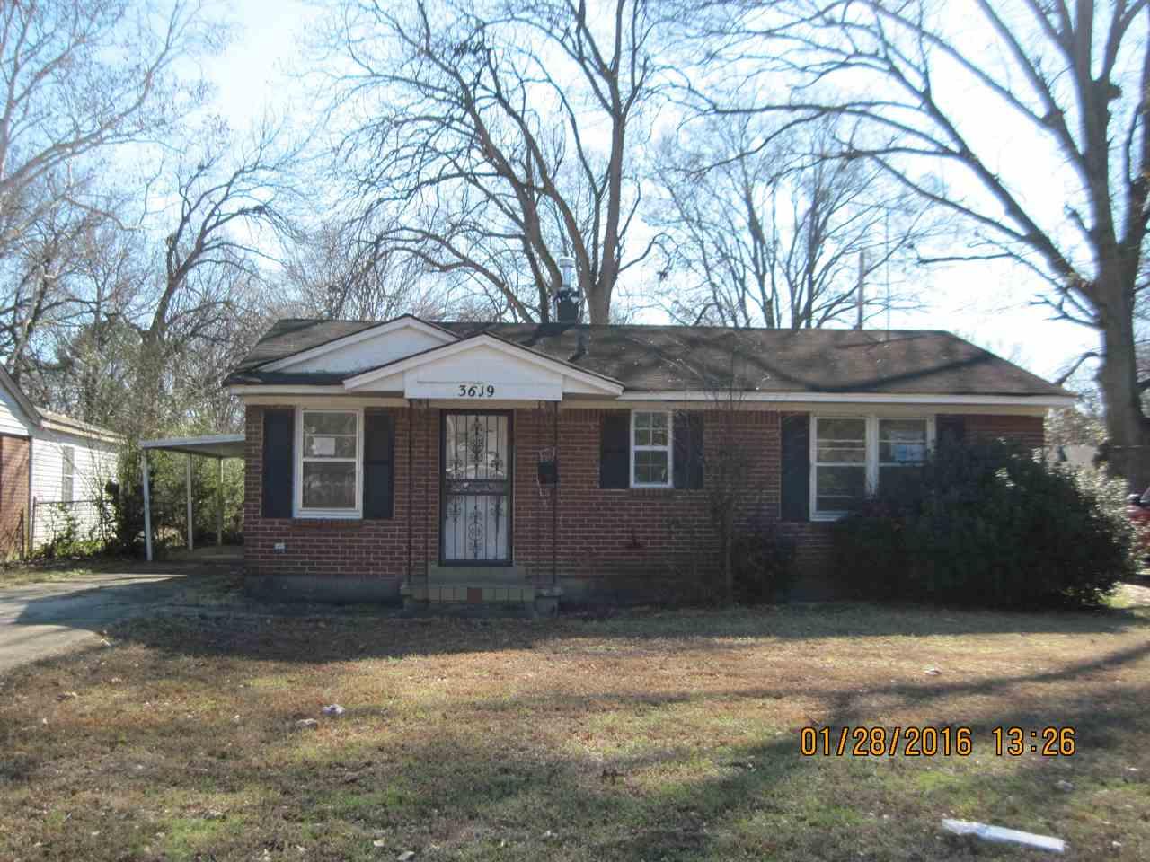 3619 Sharpe Ave, Memphis, TN