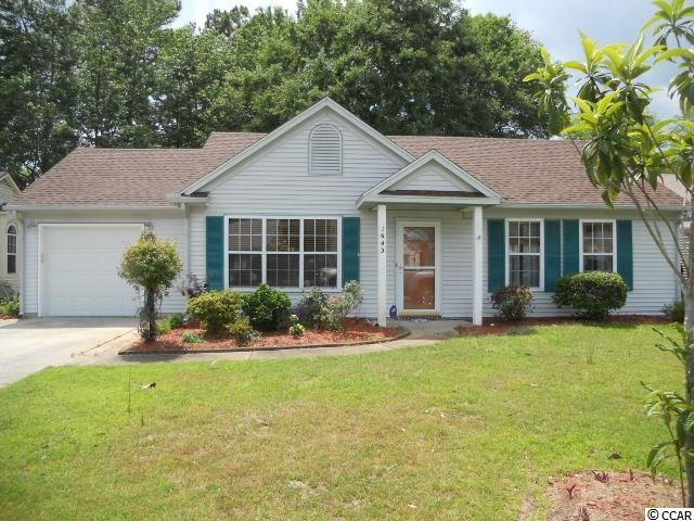 1643 Wood Thrush Dr, Murrells Inlet SC 29576