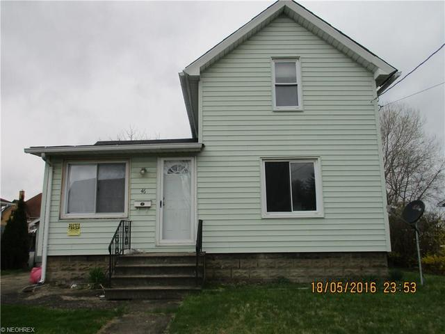 46 Lafayette Ave, Niles OH 44446