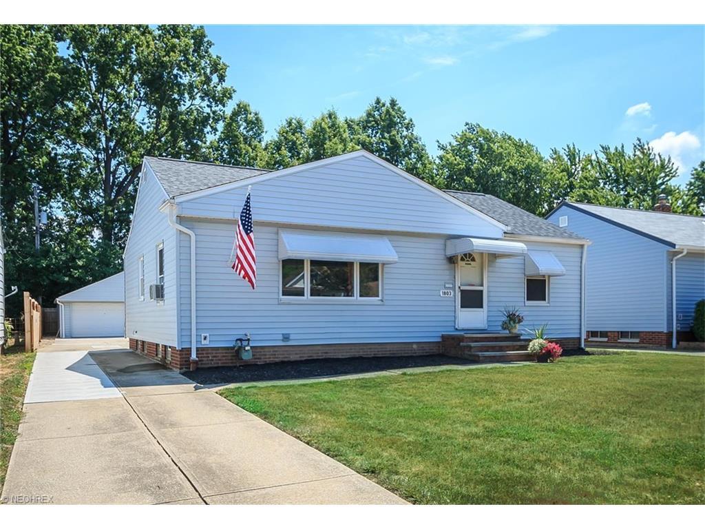 1803 Rush Rd Wickliffe, OH 44092