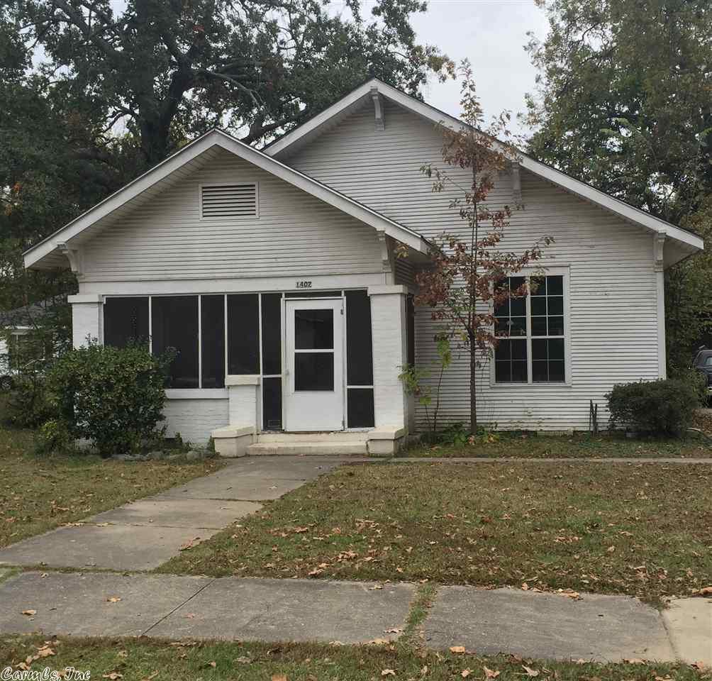 1402 W 19, Pine Bluff, AR